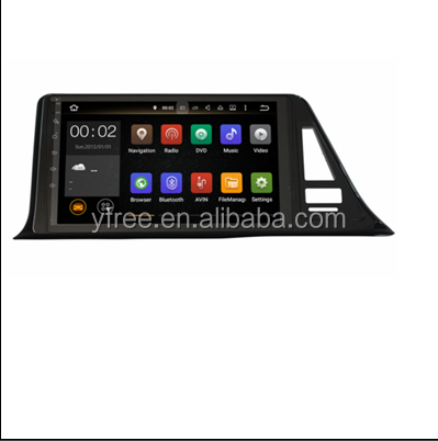for Toyota C-HR Android autostereo car radio with GPS car multimedia system central navigation 2 double din dvd player