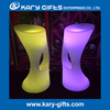 Bar furniture illuminated rgb color changing cocktail chair glowing led stool