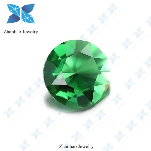 wholesale aaa cheap green glass bead for factory price