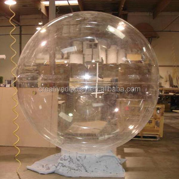 Custom Large Clear Acrylic Dome Clear Acrylic Half Dome