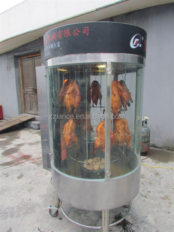Electric Gas Vertical Rotary Chinese Roast Duck Oven Buy