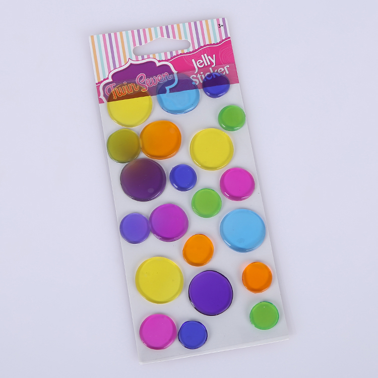 Gel Cling Window Jelly Stickers Decorations