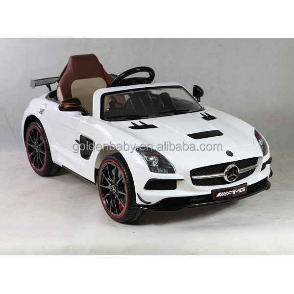 newest ride on car kids licensed mercedes benz amgelectric toy car