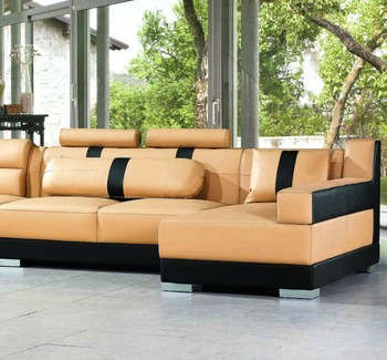 genuine leather sectional sofa living room funiture white leather sofa set,  View leather sofa, EVERGO Product Details from Evergo Furniture Co., Ltd.  ...