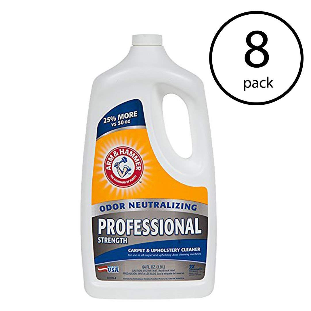 Get Quotations · Arm & Hammer 64-Ounce Carpet Washer Extractor Chemical (8 Pack)