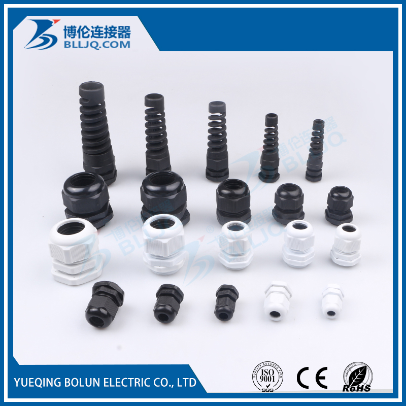 Low MOQ waterproof nylon cable gland connection