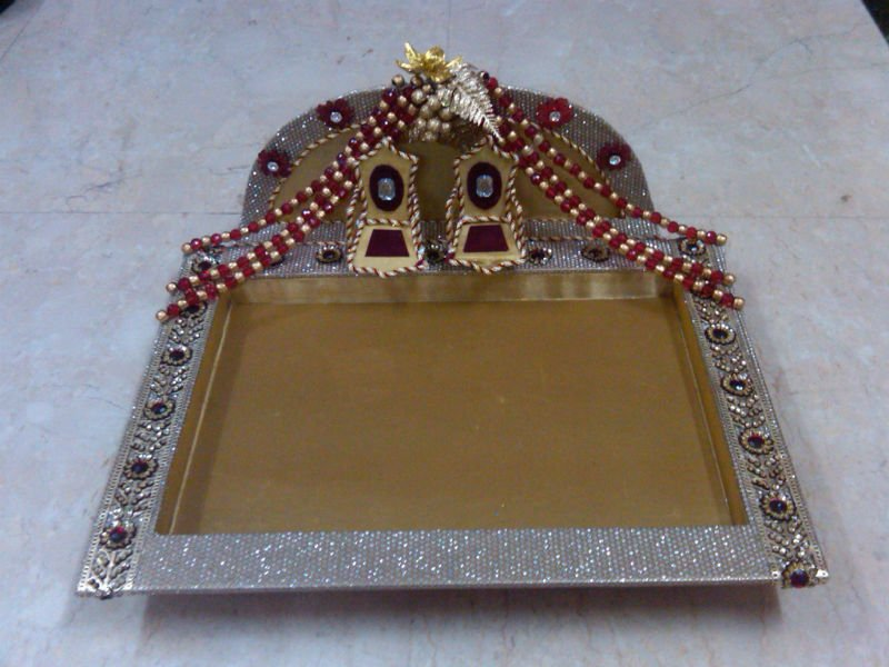 Trousseau Packing Trays Buy Trousseau Paciking Wedding Packing Adorable Saree Tray Decoration