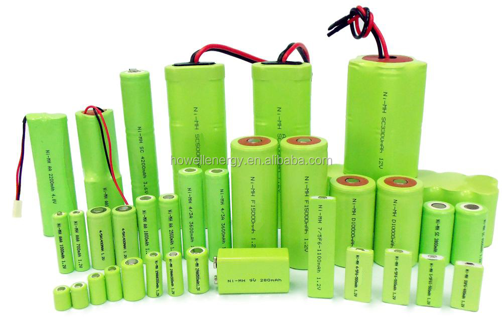 Iec62133 Ul Approved Nimh Aa 600mah 1.2v Battery / 1.2v ...