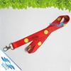 fabric funny style neck lanyard with metal lobster claw made in china wholesale