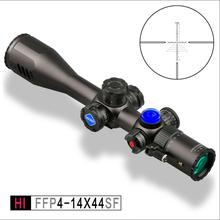 Discovery nuovo design HI 4-14X44SF Sigillo FFP first focal plane reticolo <span class=keywords><strong>Scope</strong></span> Riflescope Livella a Bolla Sniper <span class=keywords><strong>Scope</strong></span>