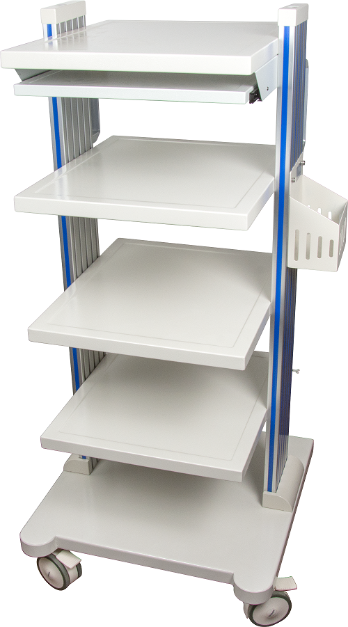Endoscopy Room Design: Endoscope Camera Workstation Trolley