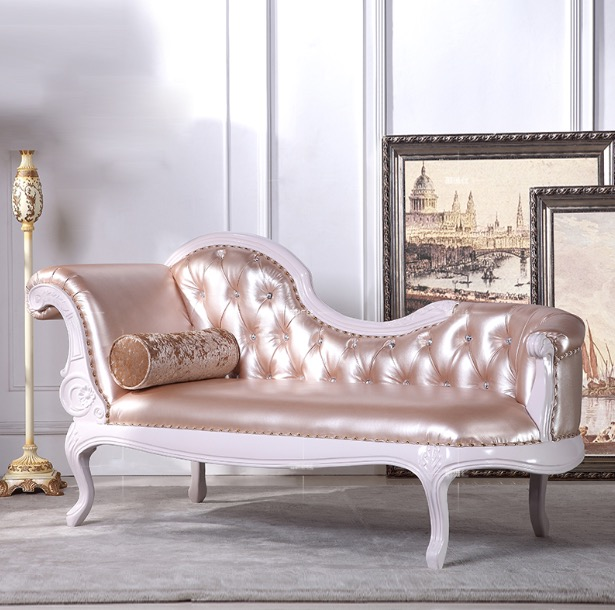 Chaise Lounge Chair.Chaise Lounge Chair Indoor Juvenile French Style Long Sofa Sleeper