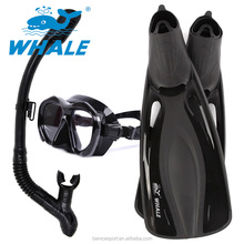 10% di SCONTO Panoramica Vista Largo Mask Dry Snorkel Pinne Set