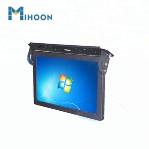 21.5 inch Ceiling Mount Adroid LCD Advertising Screen For Taxi, Car ,Bus Advertising Media Player