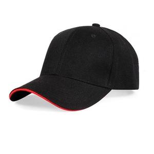 734e2551610 High Quality Baseball Cap Promotional Embroidery Black Custom Sport  Baseball Cap
