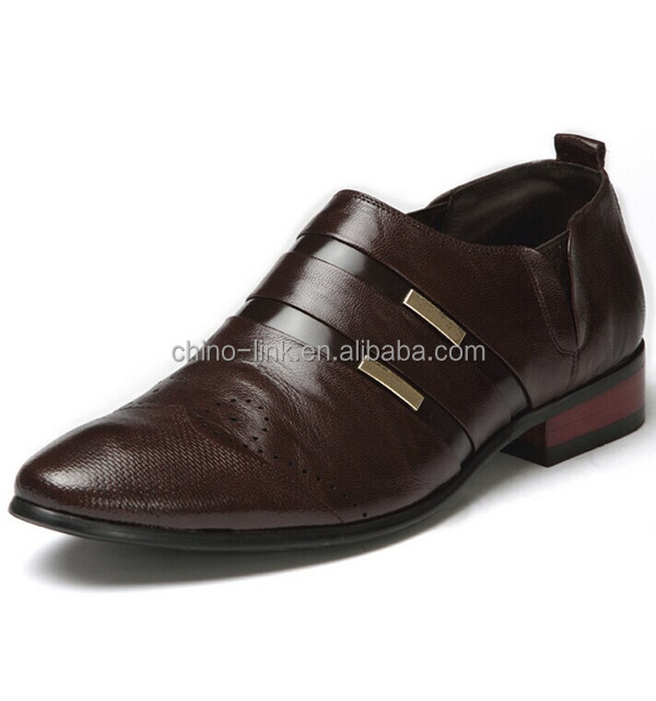Cheap fashion mens formal shoes/commerce shoes / leather shoes