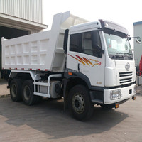 FAW New J5P 10 Wheeler 6x4 Heavy Duty Mining Tipper Dump Truck