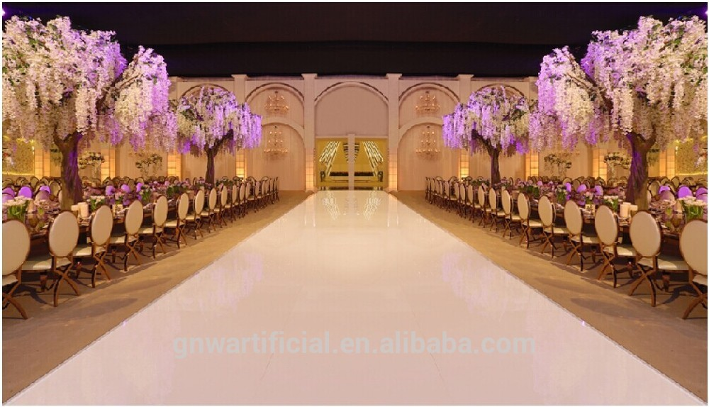 Gnw Ctr1503 Artificial Flower Trees Wedding Table Centerpieces