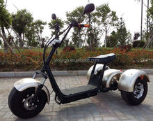 yongkang surpa 1000w electric golf scooter with seat/three wheel fat tire electric scooter