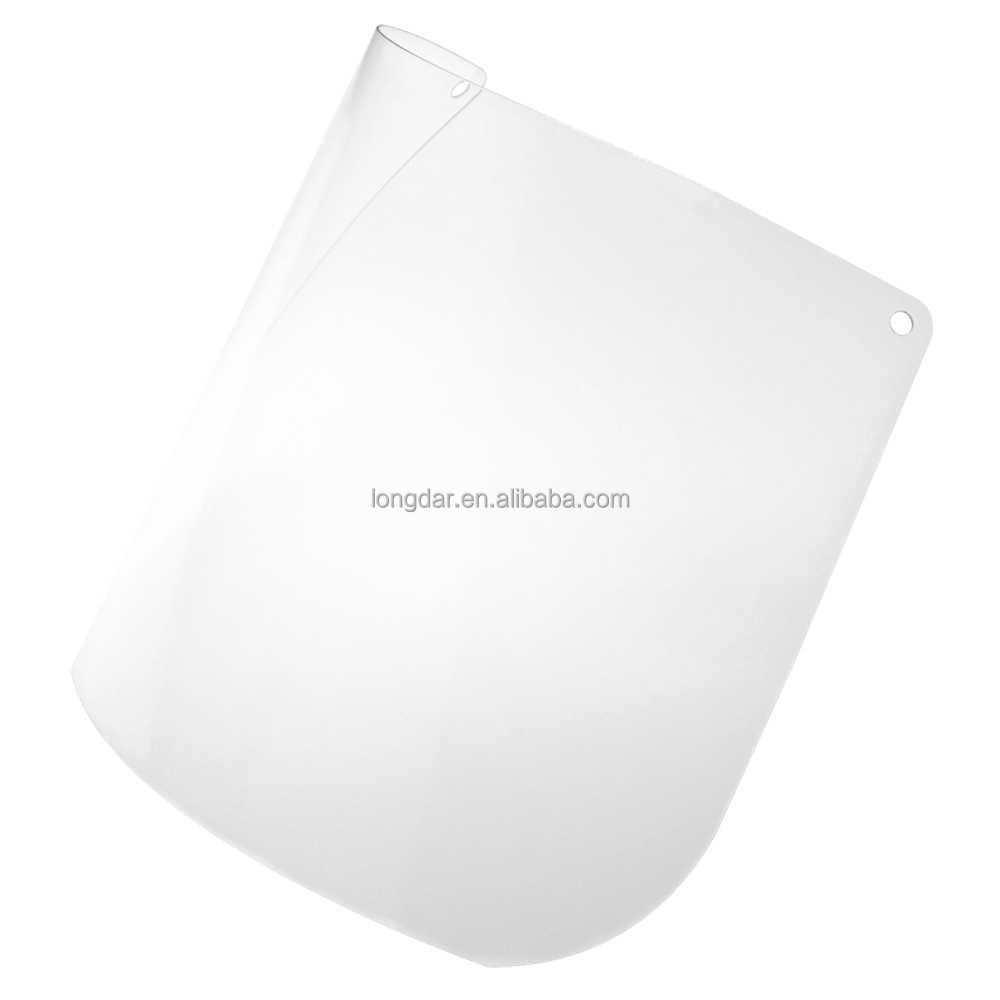 CE Clear polycarbonate VC81S 1.0 mm thickness protective face shield visor