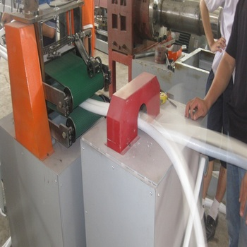 Double heads 90 pe foamed rod extrusion machine, double mould 90 epe foam extruder