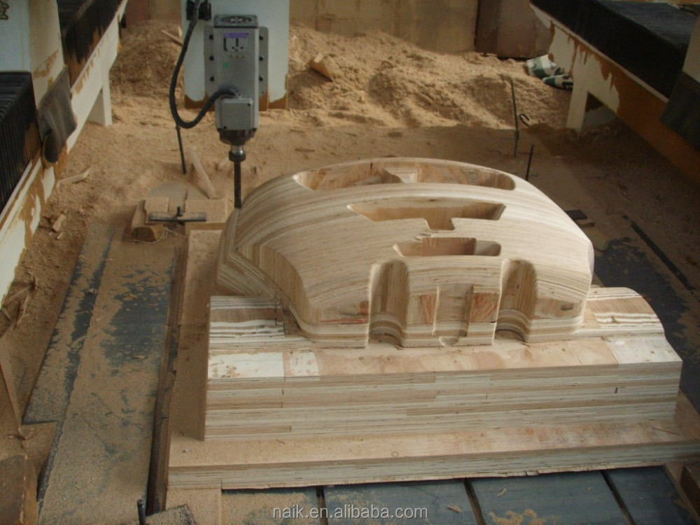 High Z Axis 3d Styrofoam Carving Cnc Router 5 Axis Foam