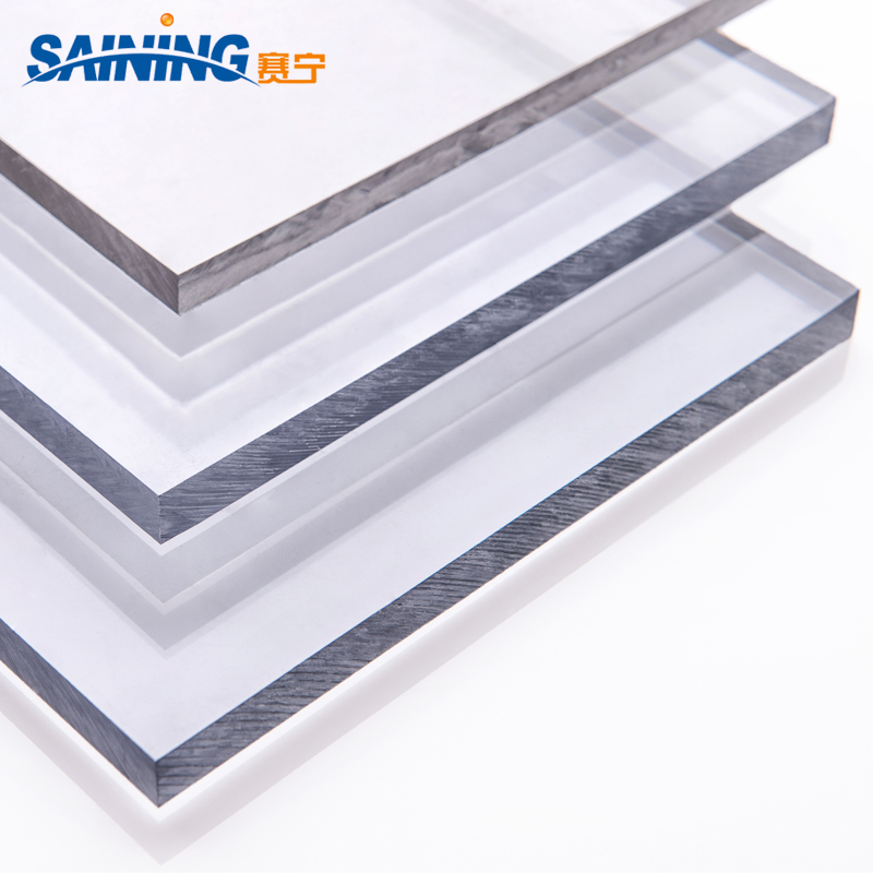 4x8 6mm Lexan Transparent Recycled Solid Polycarbonate Roofing Sheet