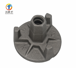 Qingdao Casting Foundry Custom Made Metal fix fittings Construction Hardware