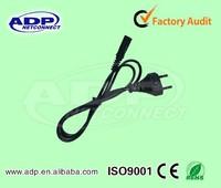china manufacturer wholesale 10A 16A 250V 220v power cords for laptops EU/AU/UK/US plug power supply cord