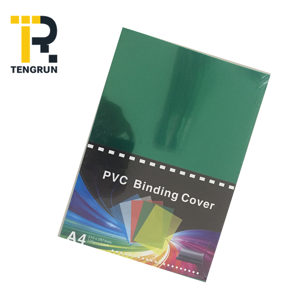 Perfect Thermal A4 Material Clear Plastic Protective Pvc Binding Cover