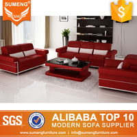 2017 most popular hotel furniture manufacture small leather office sofa in poland