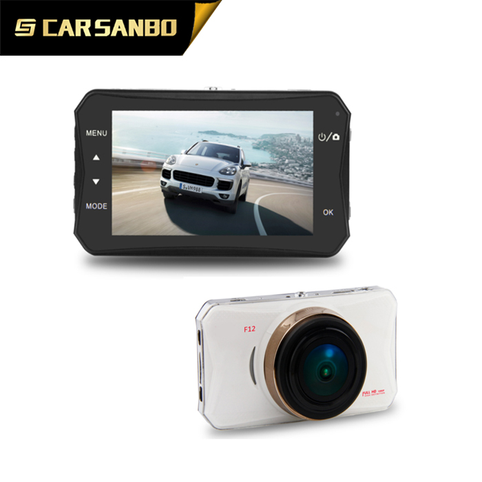 High quality 2.7inch FHD 1080p car black box car video recorder with Ambarella A12 CPU