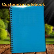 personalized high quality 2012 a5 spiral hardcover diary notebook