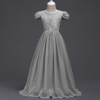 China Retail Best Western Wear Princess Bridal Gowns Girl Chiffon ...