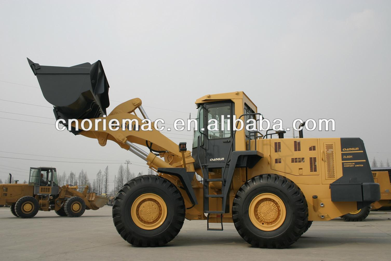 Changlin 6 ton telescopic wheel loader ZL60H