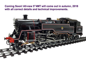 4MT , 127mm gauge , 1:11.3 Live Steam Locomotive -