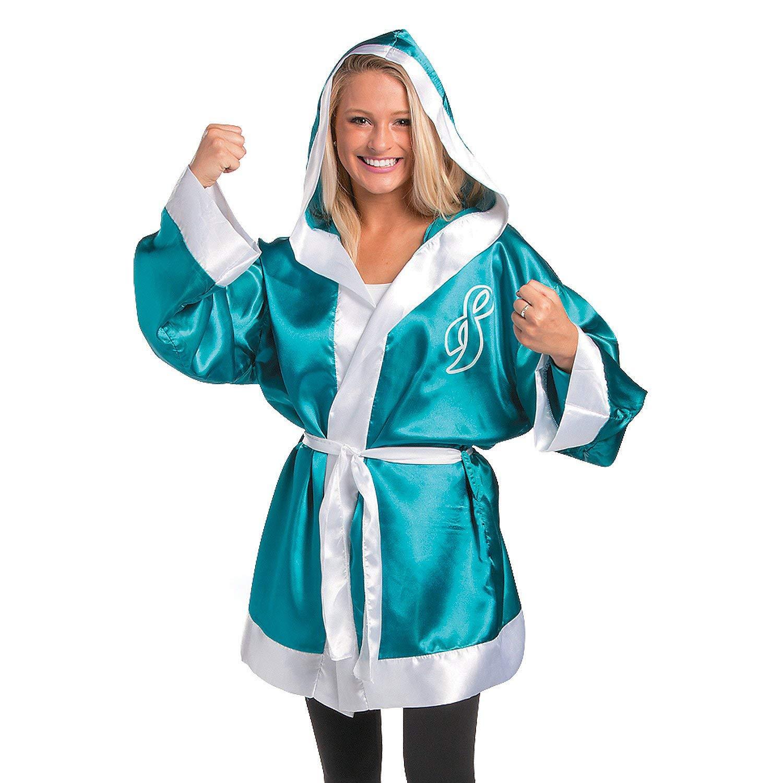 6d2c822633 Teal Ribbon Boxing Robe