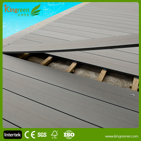 Best Seller Composite Decking Above Ground Pool Decks Solid Decking Very  Durable