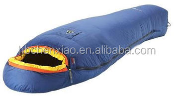 102020 4 Season 0 Degree Down Feather Winter Sleeping Bags Goose Bag Fur Heated Product On