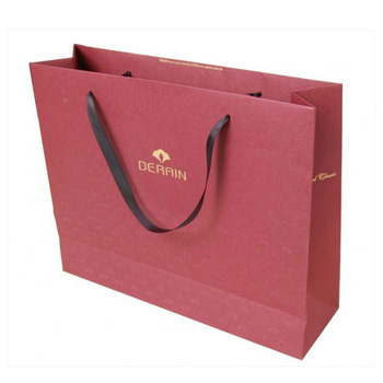 FSC CERTIFICATED CUSTOM KRAFT BROWN PAPER BAG FOR CLOTHES PACKAGING WITH LOGO PRINTED