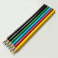 High Quality Art Set Student Drawing 6 Color Rainbow Lead Wood Colour Pencil