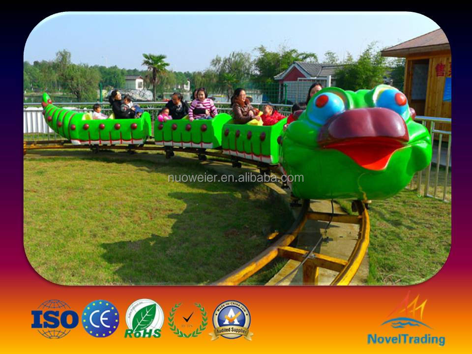Save your cost playground kids train rides mini roller coaster car for sale