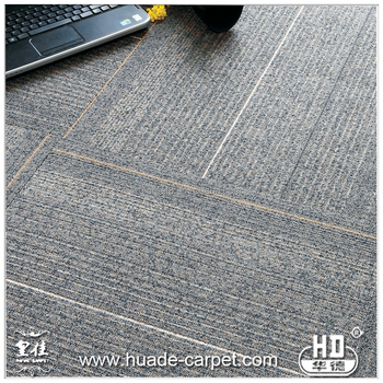Thick Washable Carpet Tiles 12X12 with Customized Services