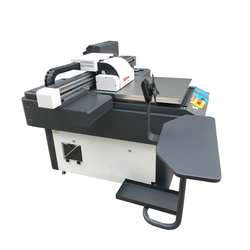 Inkjet large format flat UV printer price is glass wood acrylic acid.
