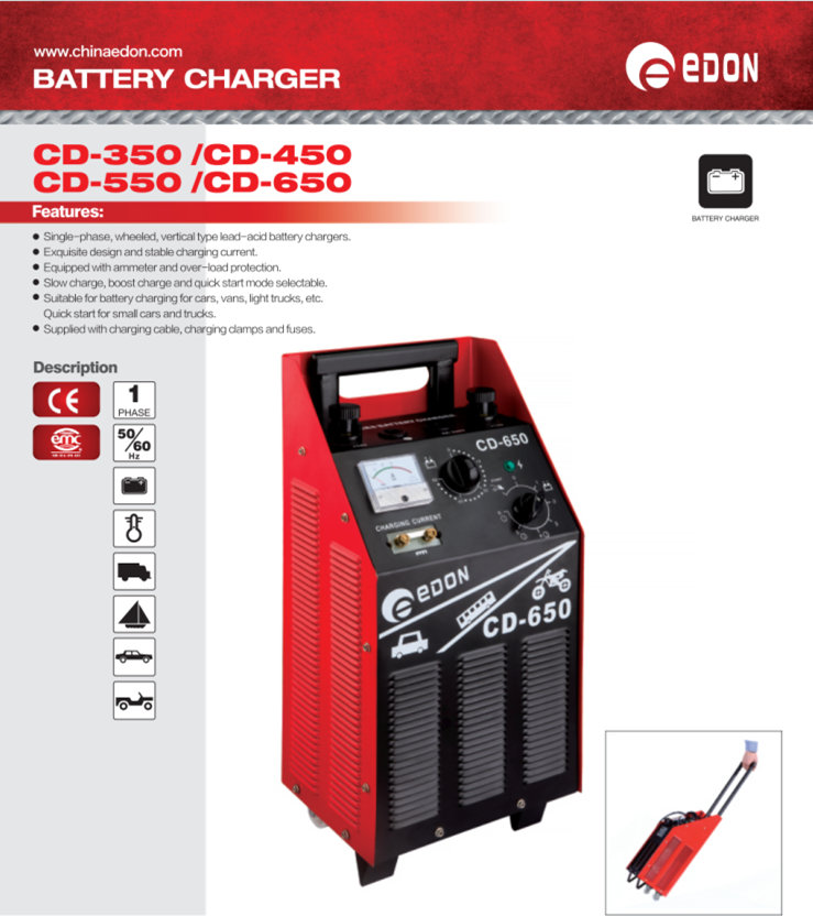12v 24v car battery charger