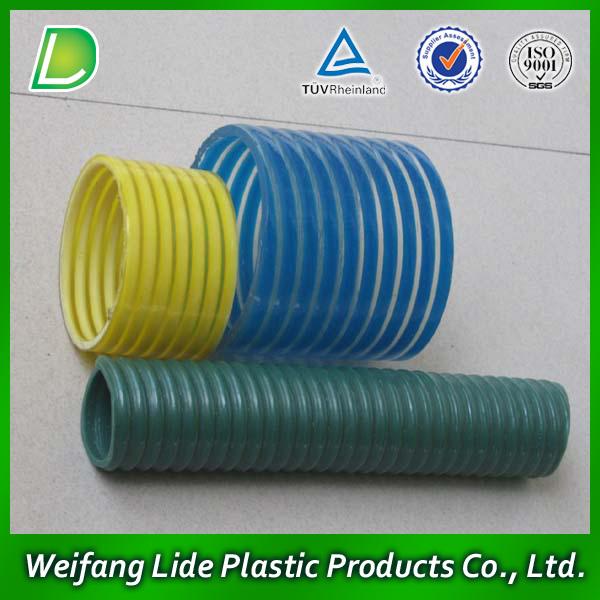 Flexible Corrugated Plastic Pipe : Flame retardant pvc plastic corrugated hose bellows tube