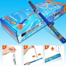 wizard school toy Magic Wander Fun Fly Stick Novle levitation Item with 5 additional flying toys