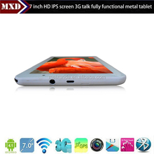 7inch mtk8377 mini android tablet pc 3g sim card slot 1gb ram 8GB flash