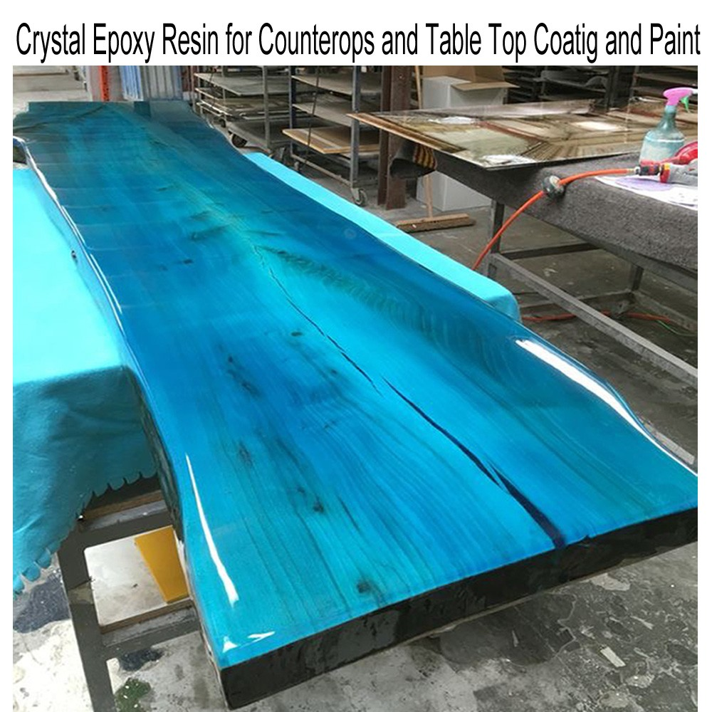 Epoxy Resin For Wood Table And Furnitures Coating And