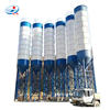 Used small mini bolted type 10 ton portable cement steel silo for sale